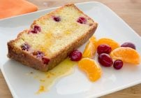 Clementine Cranberry Pound cake