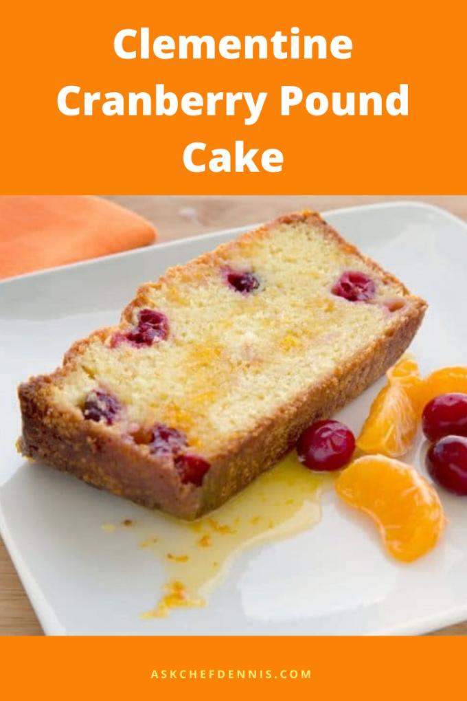 Pinterest Clementine Cranberry Pound Cake