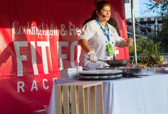 cooking-demo-John Hancock fit foodie race