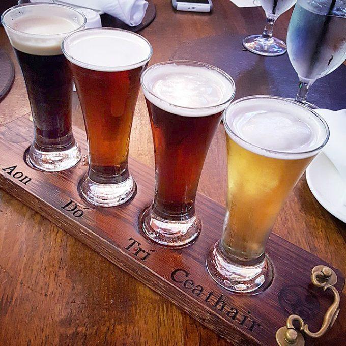 Raglan Road at Disney Springs, beer