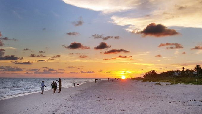 sanibel and captiva beach-sunset