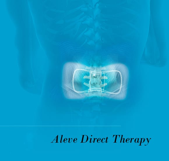 Aleve Direct Therapy TENS Device to relieve your sore & aching muscles