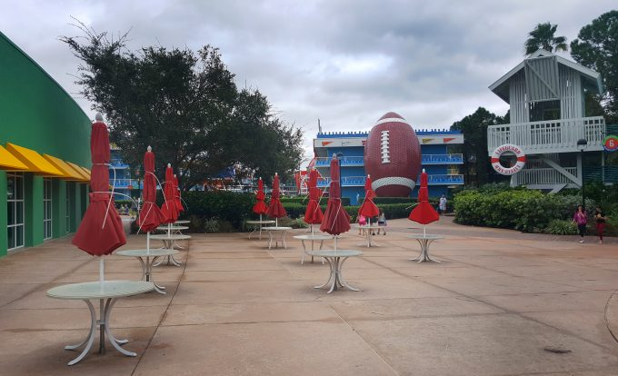 Surviving Hurricane Matthew at Disney All Star Sports Resort