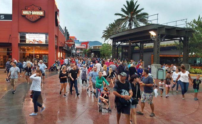 Surviving Hurricane Matthew at Disney All Star Sports Resort, Disney Springs