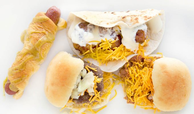 Celebrate Game Time Season with Snack Hacks for your Tabletop Tailgate Party!