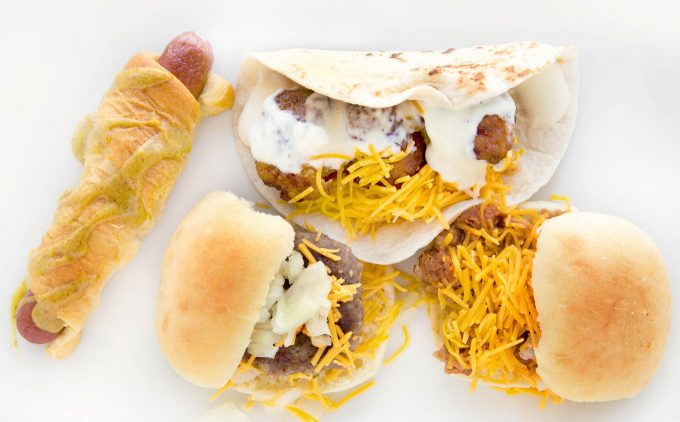 Tabletop Tailgate Party with Snack Hacks for Game Time Season