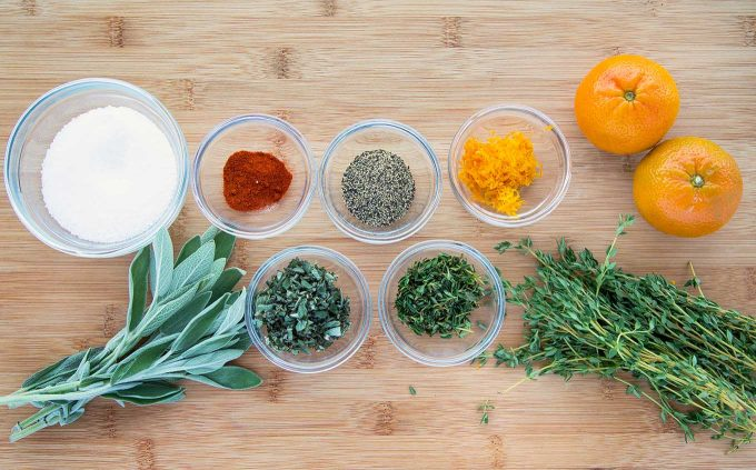 how to brine a Turkey- mise en place