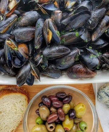 Quick and Easy Mussel Recipe