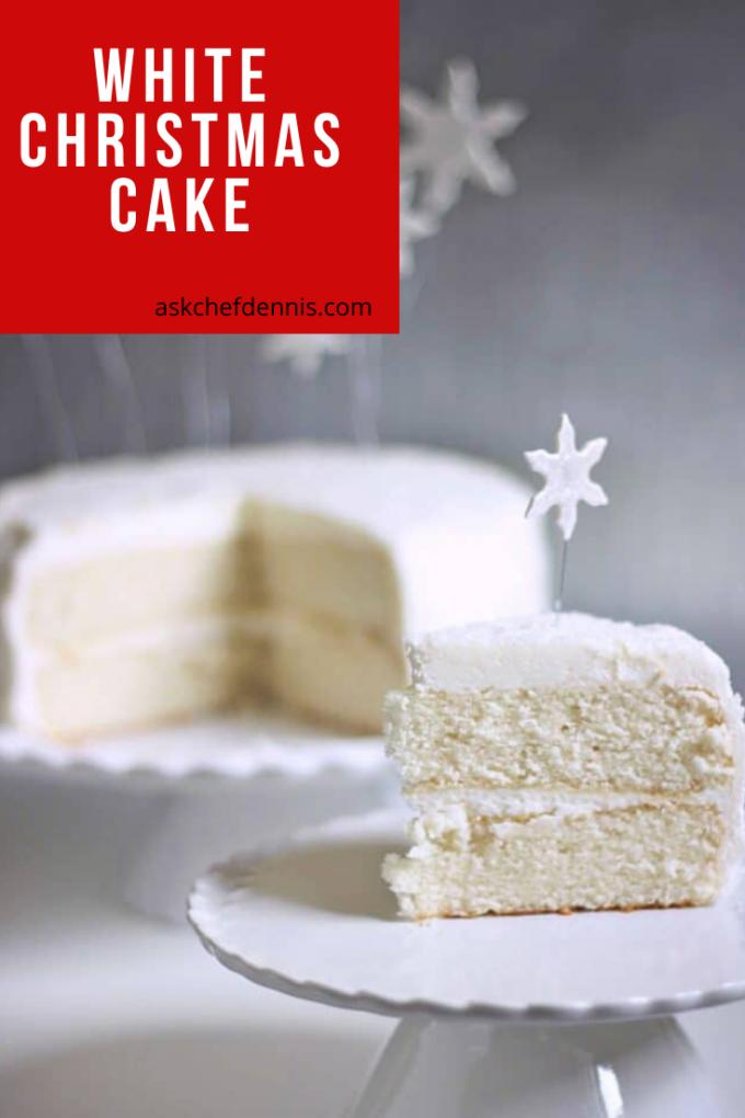 Pinterest White Christmas Cake