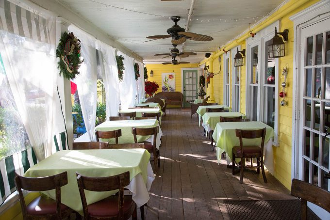 Isabelle's Restaurant, Historic Peninsula Inn, Gulfport, Florida