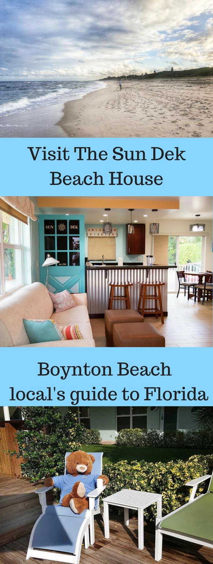 Visit the Sun Dek Beach House in Boynton Beach, Florida!  Fun in the sun couldn't be better in this tropical paradise!