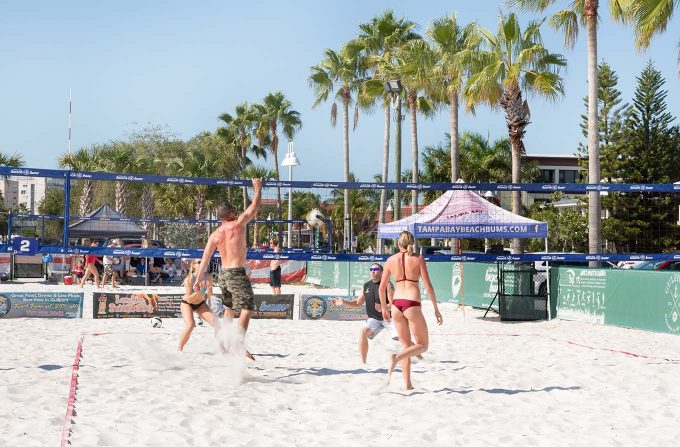 Gulfport Beach, Historic Peninsula Inn, Gulfport, Florida