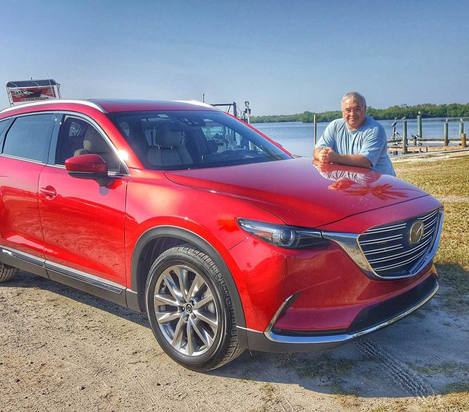 Mazda CX-9 because Driving Matters