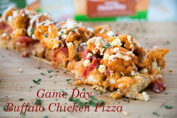Game Day Buffalo Chicken Pizza, Farmrich Halftime Hero
