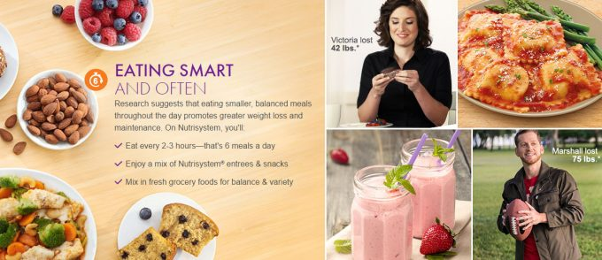 Nutrisystem for men, weight loss