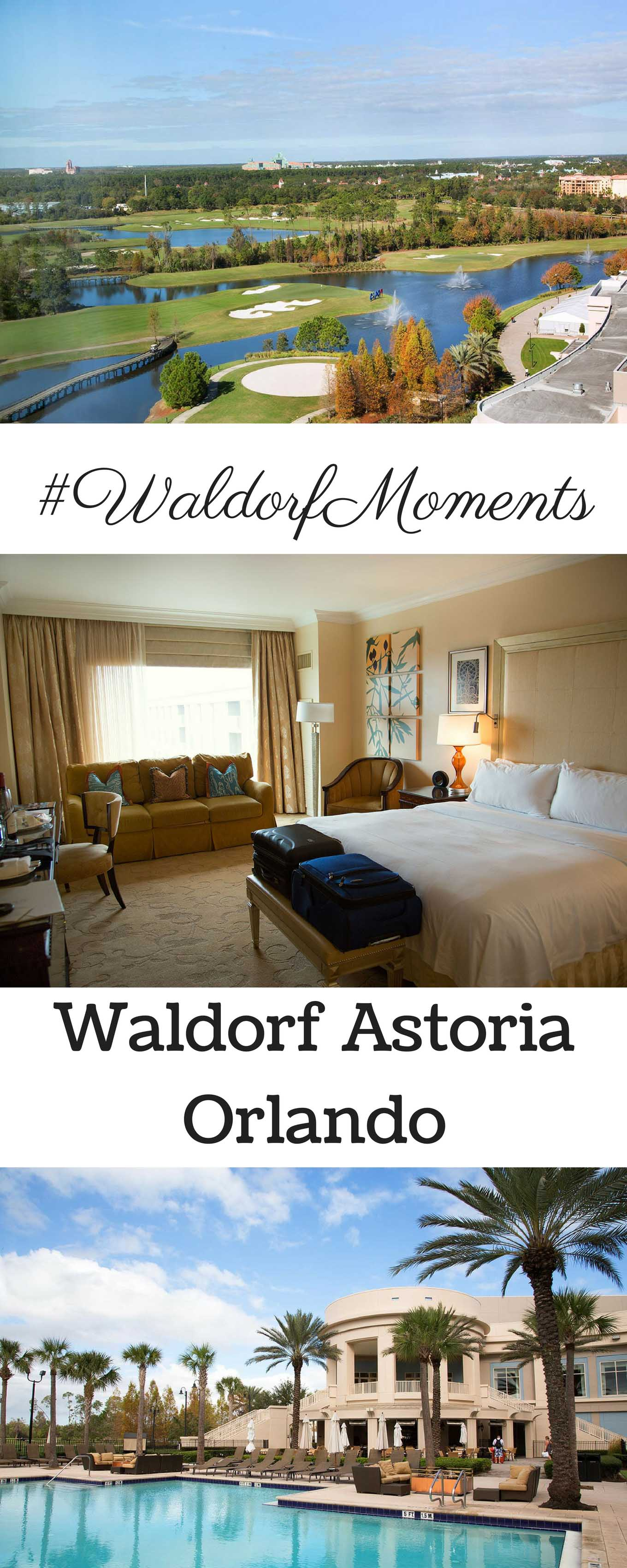 Your stay at the Waldorf Astoria Orlando will be filled with one delicious #WaldorfMoment after another!
