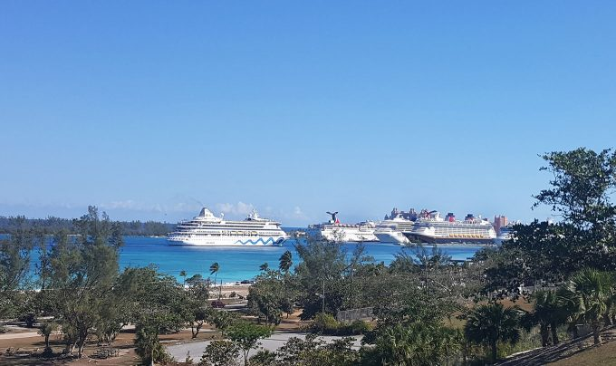 Disney Dream at Nassau Bahamas