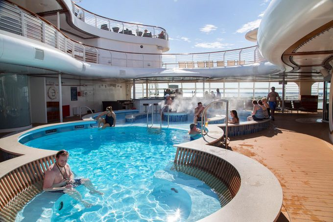 Disney Dream Cruise Ship adult pool