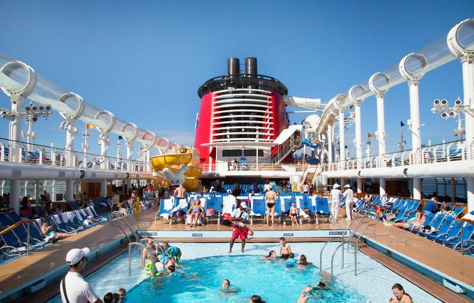 Disney Dream Cruise Ship main pool