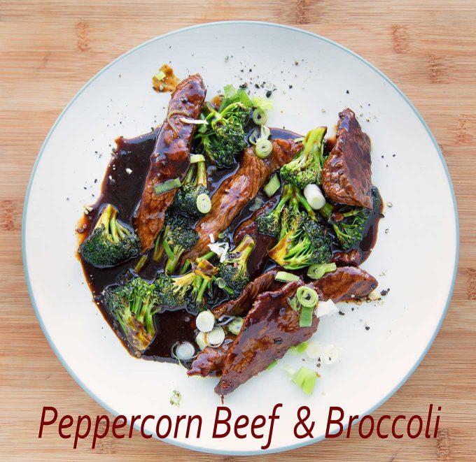 Asian Style Peppercorn Beef & Broccoli