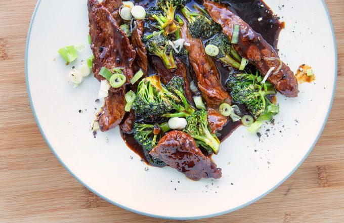 Asian Style Peppercorn Beef & Broccoli