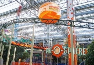 Mall of America Roller Coaster