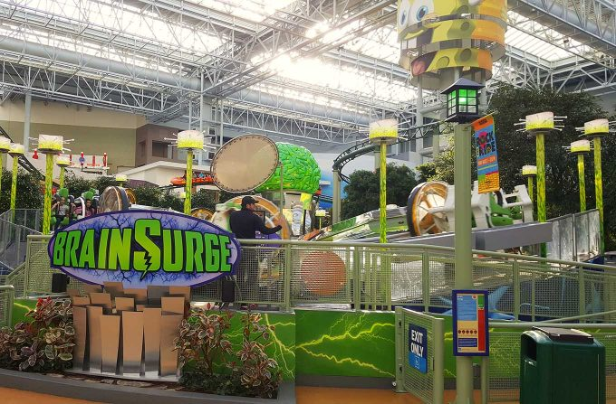 Nick Universe Brain Surge Mall of America 10