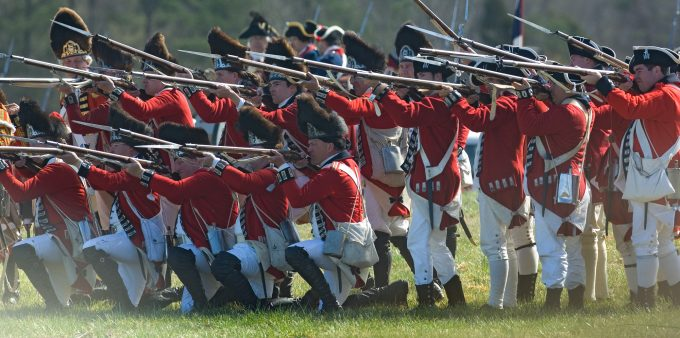 Visit Grensboro, Reenactment at Guilford Courthouse National Military Park
