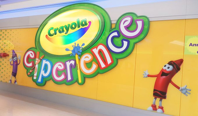 The Crayola Experience Mall of America