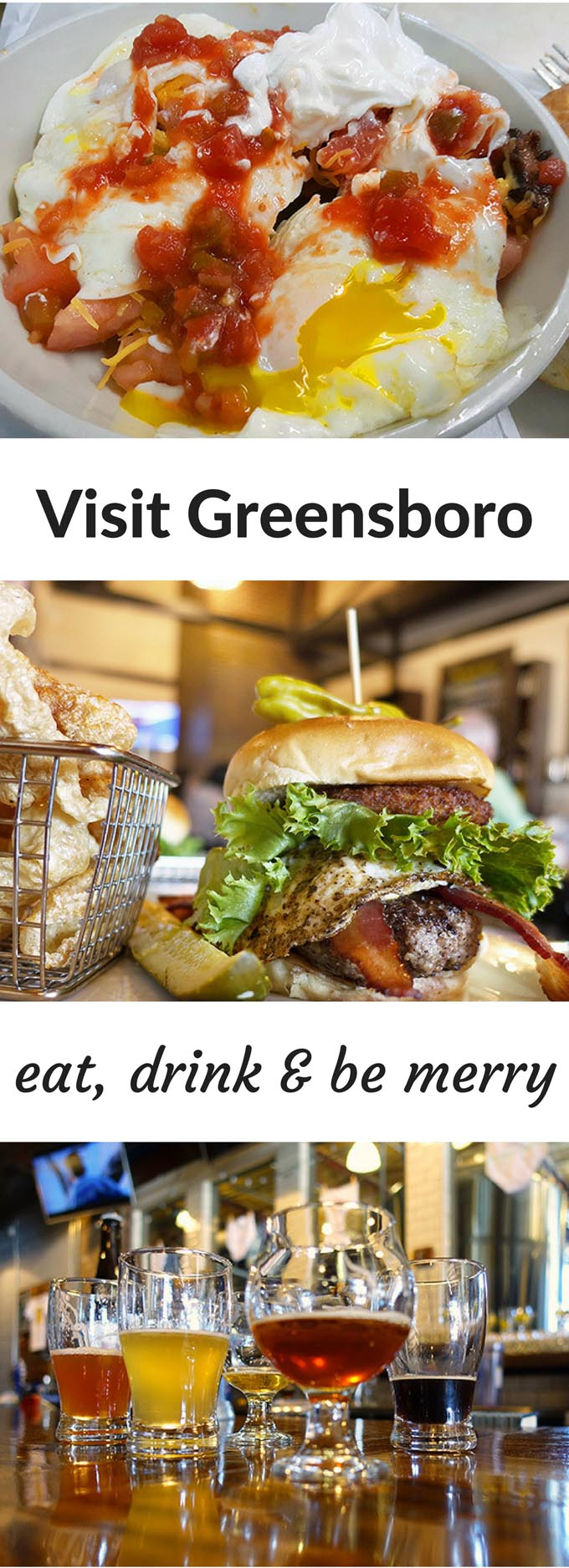 Eat, Drink and be Merry! Visit Greensboro, NC for a delicious adventure.