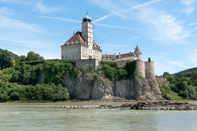 Schloss Schönbühel, a private castle on the Danube River