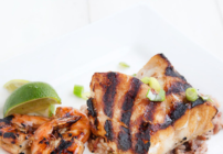 pinterest image for grilled Alaskan rockfish