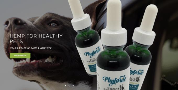 Phytorite hemp oil for pets
