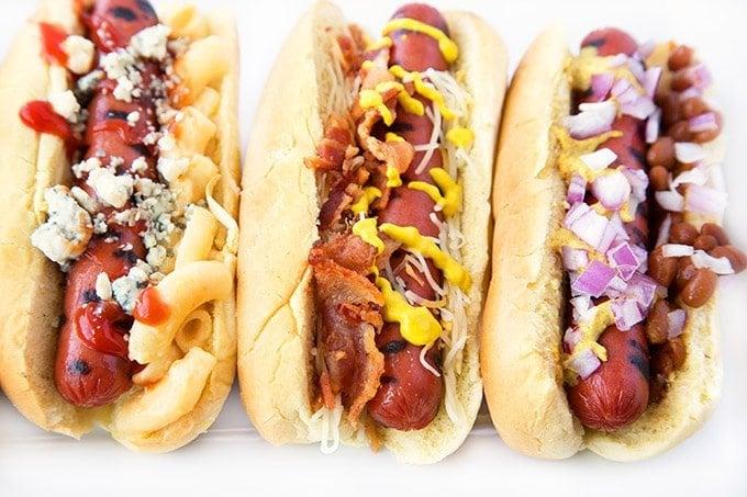 Create An All American Hot Dog Bar For