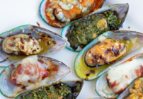 pinterest image for new zealand mussels five ways