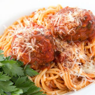 My Favorite Classic Italian Spaghetti and Meatballs Recipe
