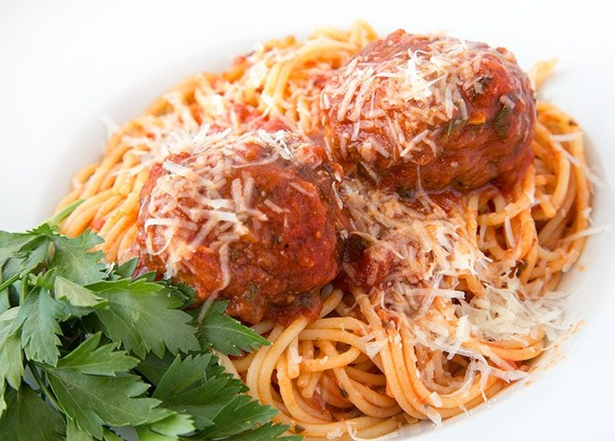 My Favorite Classic Italian Spaghetti And Meatballs Recipe Chef Dennis