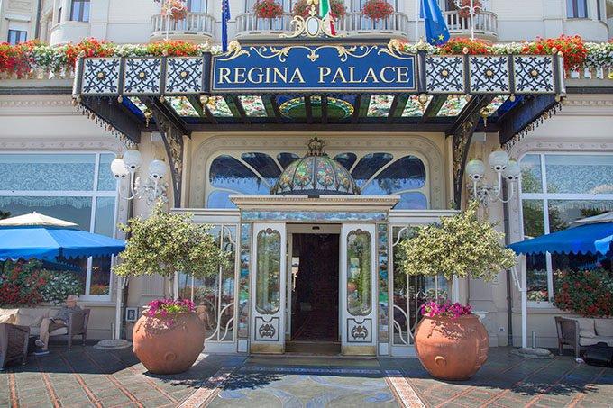 Regina Palace Hotel in Stresa Italy