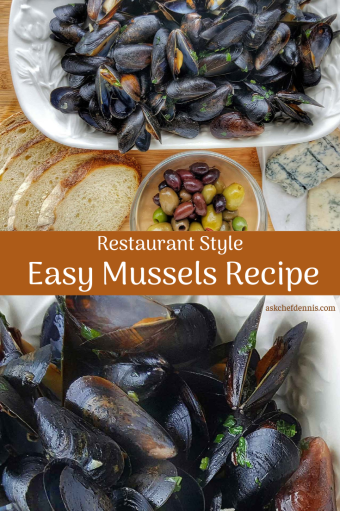Pinterest image for mussels