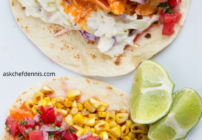 pinterest image for buffalo chicken tacos
