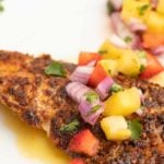 Cajun Style Florida Snapper with a Lime Margarita Sauce