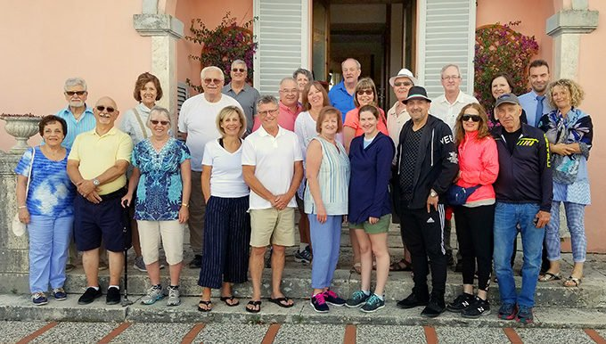 Group picture of our Collette Tour in Italy