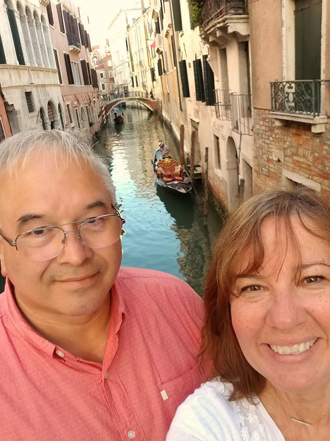 Dennis and Lisa in Venice