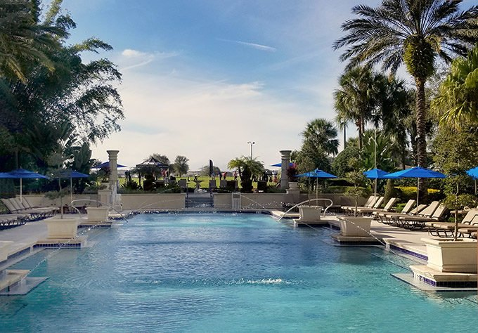 view of the adult pool at omni resort championsgate