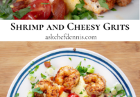 shrimp and cheesy grits