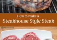 pinterest image for steakhouse style steak