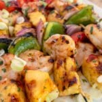Become a Grilling Superstar with my Grilled Shrimp and Pineapple Skewers Recipe