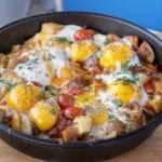 Breakfast Lovers Cheesy Skillet Breakfast
