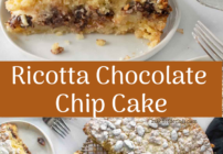 pinterest images for ricotta chocolate chip cake