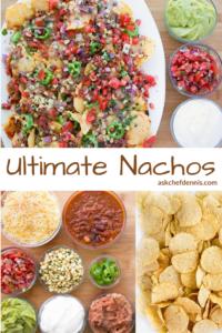 Pinterest image for ultimate nachos